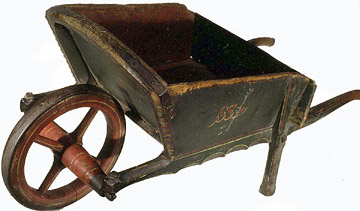 Picture of Victorian childs wheelbarrow