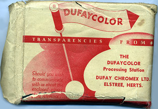 Dufaycolor envelope.