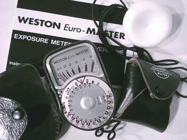 Weston Euro-master Lighmeter