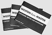 Weston Euromaster Instruction Booklets