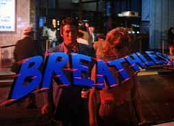 Breathless (1983) Valerie Kaprisky, Richard Gere