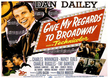 Poster for Give My Regards to Broadway (1948)
