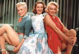 'How To Marry a Millionaire' Monroe, Bacall, Grable