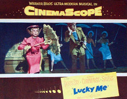 Poster for 'Lucky Me' (1954)