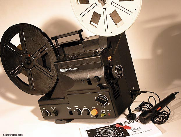 Eumig S934 Super 8mm Sound Projector