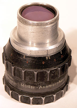 Moller Cinemascope Lens