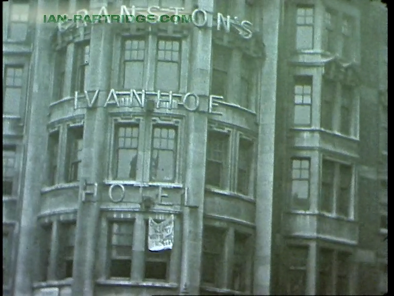 'Smith, Our Friend' (1946) Cranstons Ivanhoe Hotel squatters