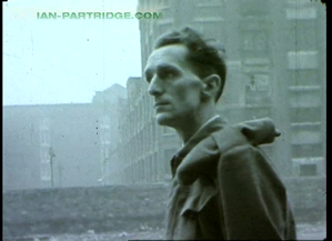'Smith, Our Friend' (1946) RDemobbed soldier surveys bombed out streets