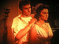 Laurence Olivier, Jean Simmons SPARTACUS (1960)