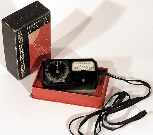 1937 Weston Model 650 Light Meter Picture