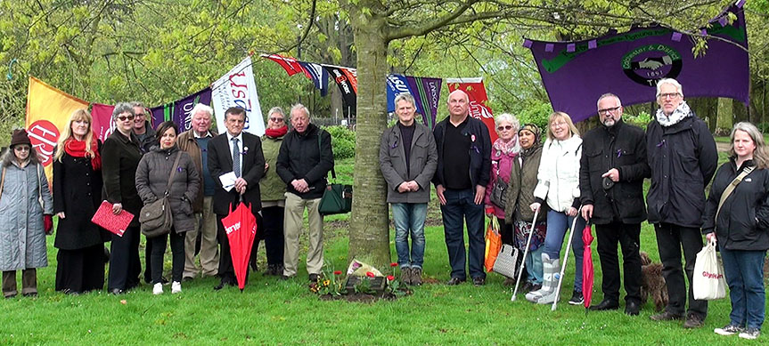 Colchester Workers Memorial Day 2018